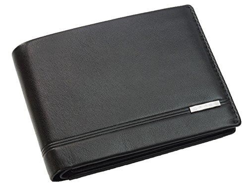 Cross Geldbörse Herren Classic Century in Geschenkbox mit RFID-Schutz - Echtleder - schwarz Querformat