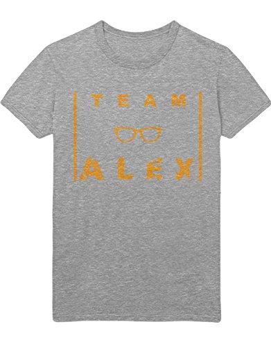 T-Shirt Orange is The New Black Team Alex C210038 Grau M (Piper Chapman Kostüm)
