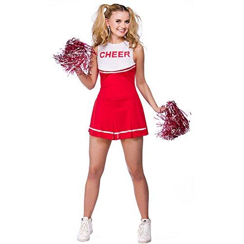 Reißverschluss Cheerleader Kostüm - High School Cheerleader
