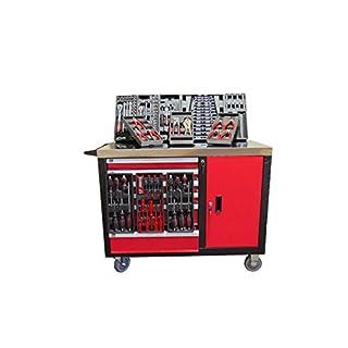 ATI-Tools Werkstattwagen XL mit 182-teiligen Werkzeugsortiment