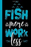 Fish More Work Less: Your fishing logbook to enter all your catches.