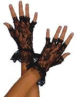 Fever Fingerless Lace Gloves