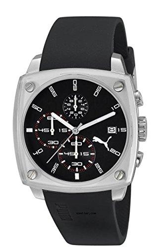 Puma Time Shade-Reloj de pulsera para hombre L Cronógrafo Cuarzo Caucho PU102591002