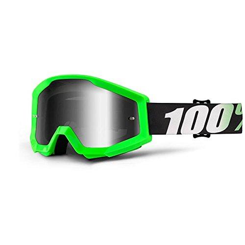 Inconnu 100% Strata Arkon máscara de Bicicleta de montaña Unisex, Negro