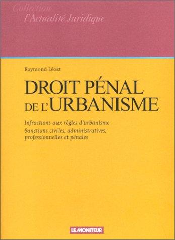 Droit pénal de l'urbanisme