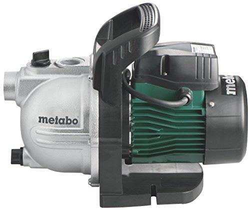 Metabo Gartenpumpe P 3300G (900W, 4,5 bar, 24 l, Fördermenge 3300 l/h, Wasserablassschraube) 600963000