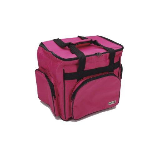 Tutto Nylon-Mischgewebe Tutu Overlock-Maschine und Zubehör bag-14.5-inch X 37cm pink (Overlock-trolley)