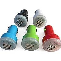 Kfz-Ladegerät mit 2 USB-Anschlüssen, für iPhone, iPod Touch, Samsung, Herzmotiv, 2 Stück preisvergleich bei billige-tabletten.eu