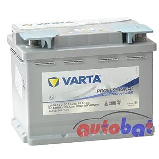 Varta LA60 840060068C542 Silver Dynamic AGM 12V 60Ah