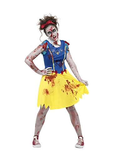 Teenager Kostüm Märchen - Smiffys Teenager Damen Kostüm Märchen Prinzessin Zombie Halloween Gr.XS