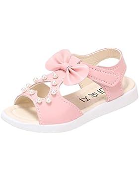 IGEMY Zapatos primeros pasos de Pu para niña Rosa rosa 24.5 ES:/edad:3.5-4 años