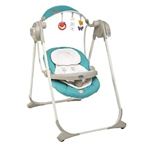 Chicco altalena polly swing up colore emerald amazon for Altalena amazon