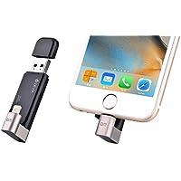 DEVIA unidad flash USB, rotación de almacenamiento externo memory stick 32GB con conector Lightning [Apple MFI certificado] para iphone/ipad/ipod