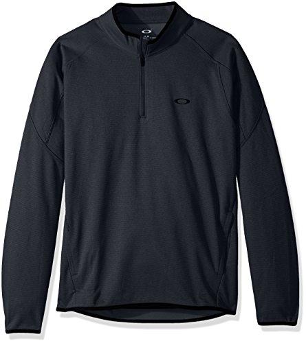 Oakley Prime-Pullover 1/4Zip-Herren L Blackout -