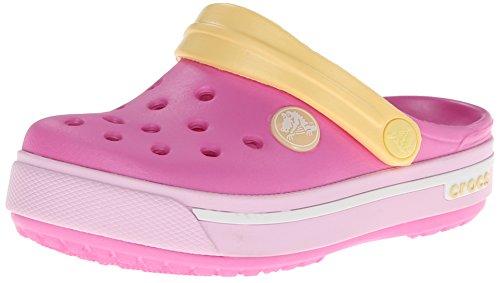 Crocs Crocband Ii.5, Sabots Mixte enfant Rose (Party Pink/Ballerina Pink)