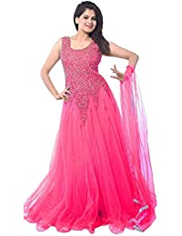Pink Womens Ethnic Gowns Buy Pink Womens Ethnic Gowns Online At
