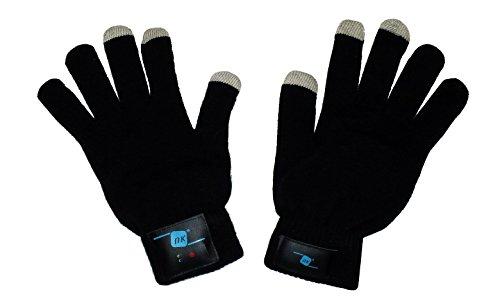NK NK-GL3004BS - Guantes invierno manos libres Bluetooth
