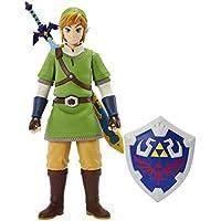 Zelda figura de acción de Enlace de Skyward Sword 50cm con accesorios de plástico Nintendo