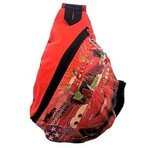 Disney Lightning McQueen Cars Backpack Shoulderbag 28 x 22cm Lunch Bag