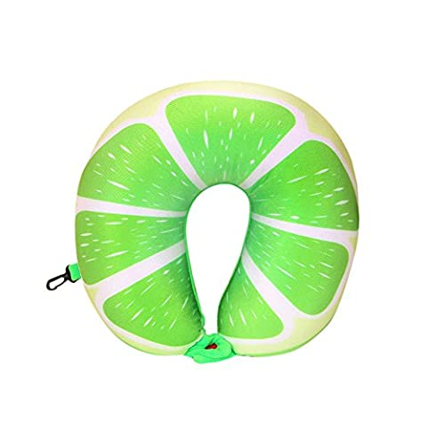 Vovotrade Fruit U-förmige Kissen Reisekissen Nanopartikel Car Pillow (D)