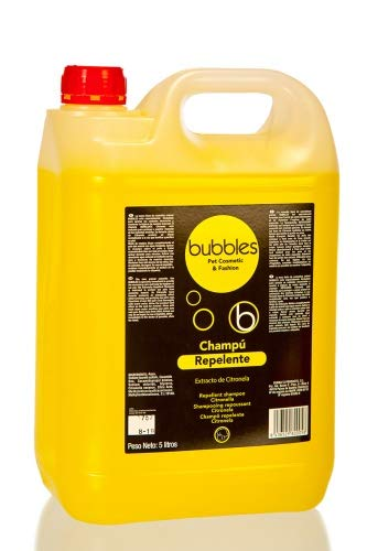 Bubble 's Perros Champú extracto limón lata 5l