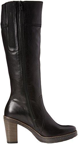 schwarz 57 55 Langschaft Damen Shoes Gabor 729 Schwarz Stiefel Z6v77n