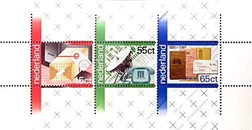 Niederlande: MiNr. NL BL22, 1180-1182, Block 22, postfrisch (1981)