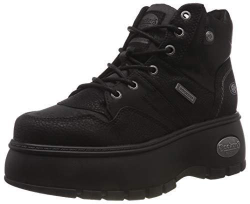 Dockers by Gerli Damen 43DR202 Hohe Sneaker, (Schwarz 101), 39 EU