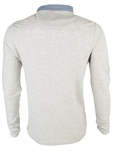 Brave Soul, Sport Shirt Uomo Sport Marl (Grey)