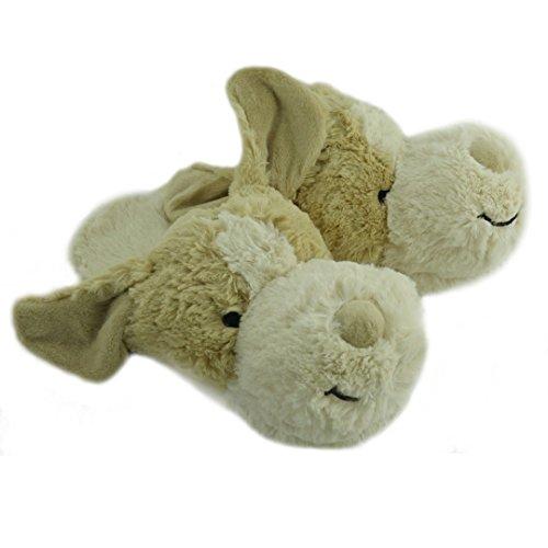 Slipper Heads Hund - Super kuschelige Pantoffeln für das ganze - Für Hausschuhe Hund Frauen