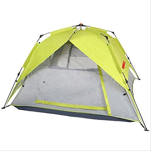 TLMY Freies Bauen Spinnendes Art Automatisches Zelt Hochwertiges Fiberglasstab Winddichtes Zelt Im Freiencampingzelt Zelte
