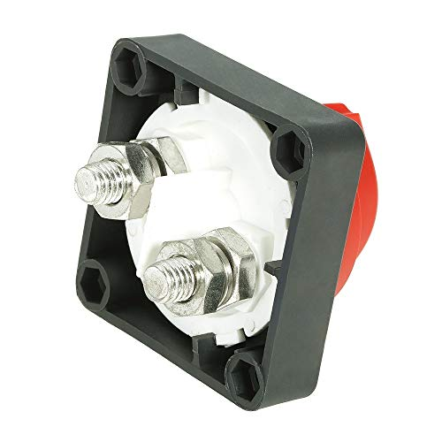 Parti sostituibili automobilistiche Car RV Marine Battery Selector Isolator Staccare il Rotary Switch Cut On/Off