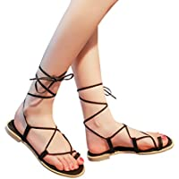 Frauen Kreuzband römischen Gladiator Sandalen VENMO Strappy Thong Flache Flip Flops Schuhe Bandage Bohemia Freizeit... preisvergleich bei billige-tabletten.eu