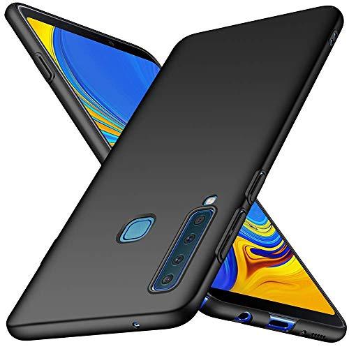 TopACE Samsung Galaxy A9 2018 Hülle, Bumper Hülle Galaxy A9 2018 Schutzhülle PC Plastik Harte Case Ultra Slim Matt Handyhülle Für Samsung Galaxy A9 2018 (Schwarz)