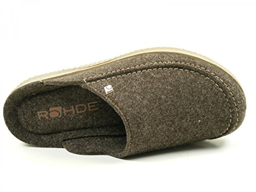 Hommes Mules Rohde Art n ° 2770-82 anthracite taille de gris 41-46 Brau