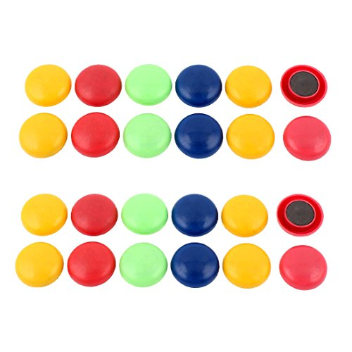 sourcingmap® 2 Set Bunt Plastik 3cm Dmr Abdeckung Waschmaschine Kühlschrank - Für Abdeckungen Kühlschränke Magnetische