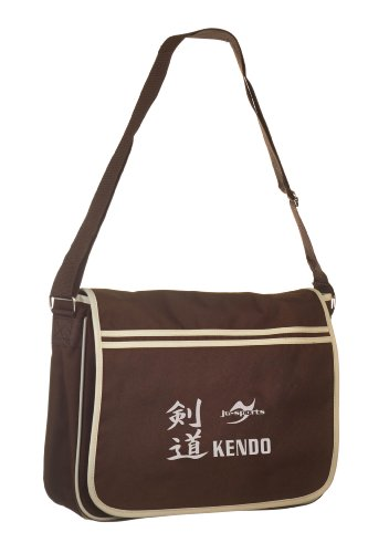 Retro Messenger Bag chocolate/sand Kendo
