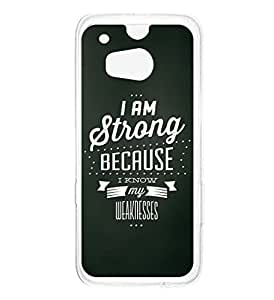 a AND b Designer Printed Mobile Back Cover / Back Case For HTC One M8 (HTC_M8_957)