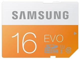 Samsung Speicherkarte SDHC 16GB GB EVO UHS-I Grade 1 Class 10 für Foto und Video Kameras (bis zu 48MB/s Transfergeschwindigkeit) (B00J4G88ZU) | Amazon price tracker / tracking, Amazon price history charts, Amazon price watches, Amazon price drop alerts