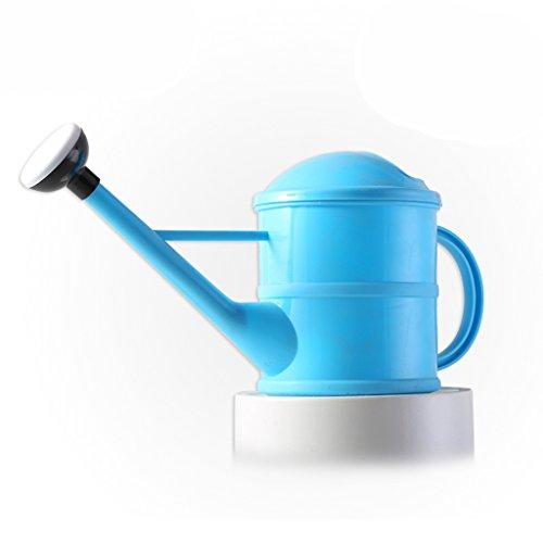 Wddwarmhome Petit pot de arrosage de jardinage de 1.5L arrosant le pot tenu dans la main de bouteilles de pot ( Couleur : Bleu )