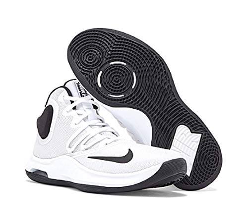 Nike Air Versitile IV, Zapatillas de Baloncesto Unisex Adulto, Blanco (White/Black 100), 47 EU
