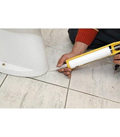 Mastic silicone cartouche joints fongicide cuisines - salles de bains 310 cc Transparent