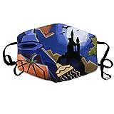 Maschera di bocca, Face Mask, Anti Dust Face Mouth Cover Mask Dance Passion Anti Pollution Breath Healthy Mask
