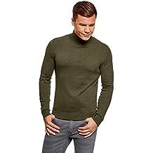 b7ff0a7c55953 Amazon.es  jersey cuello alto hombre - Verde