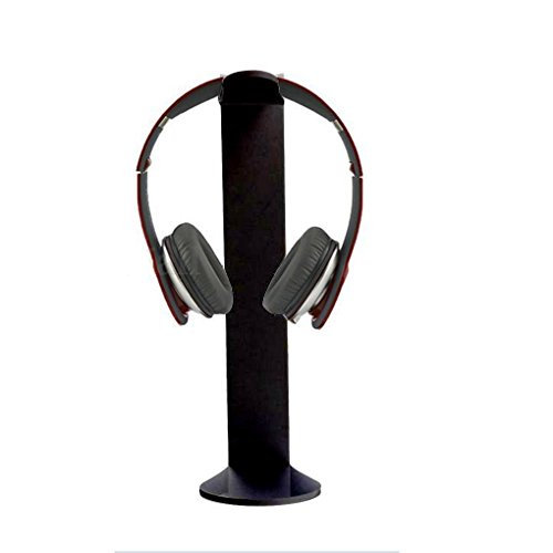 Timlatte Universal Acrylic Earphone Bracket Headset Hanger Holder Rack Headphone Desk Display C-Shape Stand Mount Rack Headphone Hanger