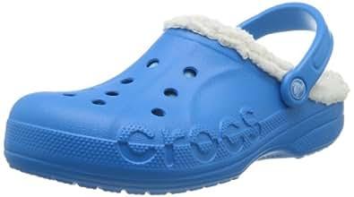 Crocs Baya Lined Unisex - Erwachsene Clogs, Blau (Ocean/Oatmeal 4B3), 38-39 EU (M5/W6 UK/M6W8 US)