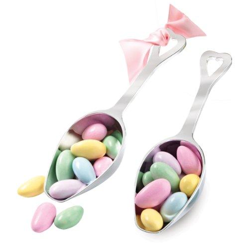 Wilton Candy Schaufeln, versilbert, 2 Stück, andere, mehrfarbig