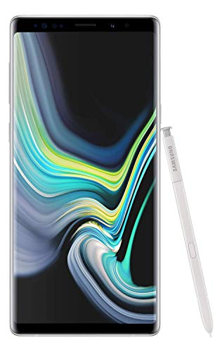 Samsung Galaxy Note 9 (Alpine White, 6GB RAM, 128GB Storage) with Offers