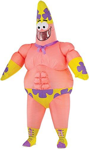 Adult Inflatable Patrick Star Movie Fancy dress costume (Star Patrick)