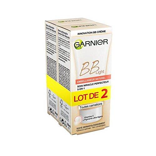 Garnier skin naturals soin visage bb nude tube lot de 2 x 50ml - ( Prix Unitaire ) - Envoi Rapide Et Soignée
